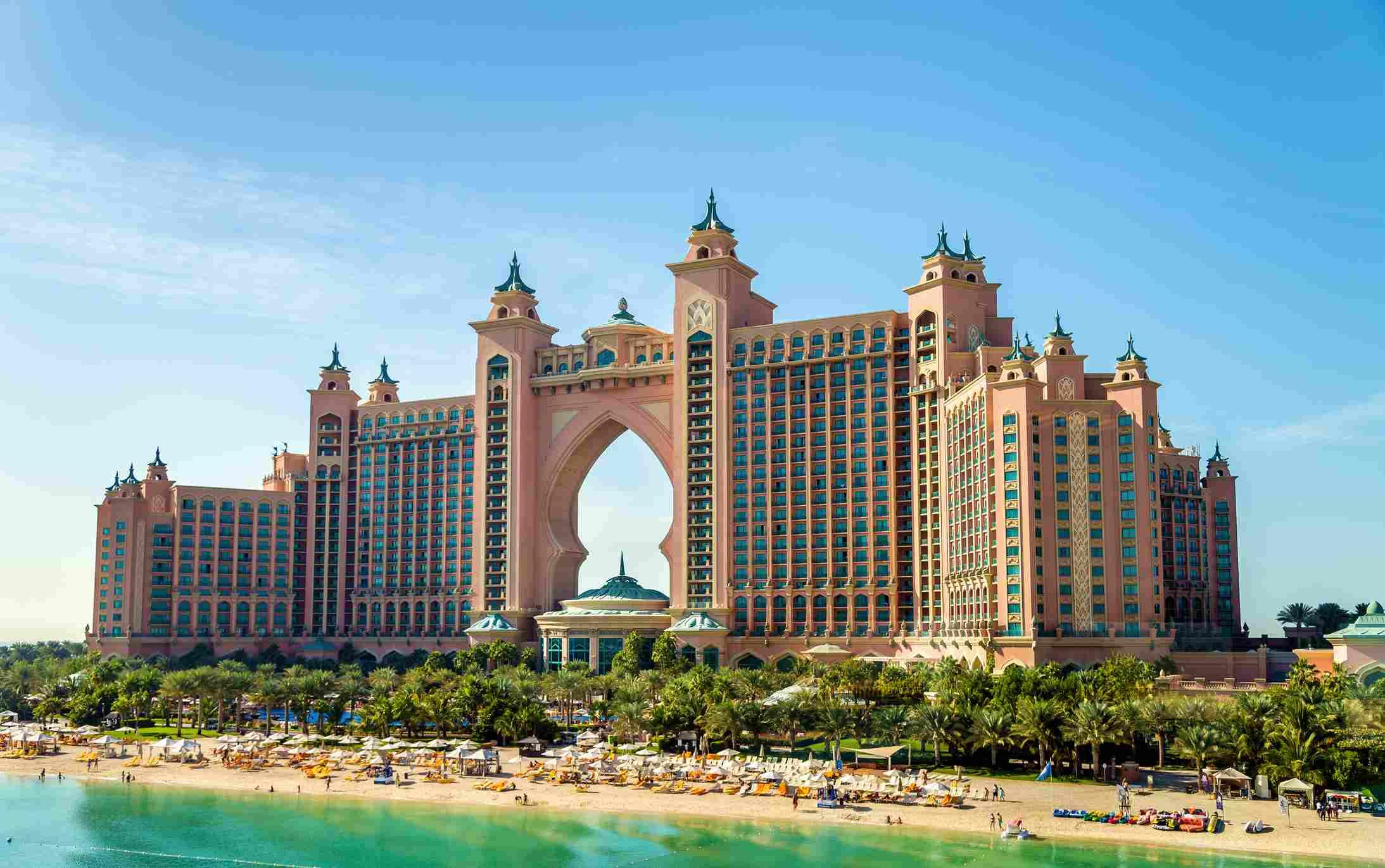 Atlantic hotel, Palm Jumeirah, Dubai
