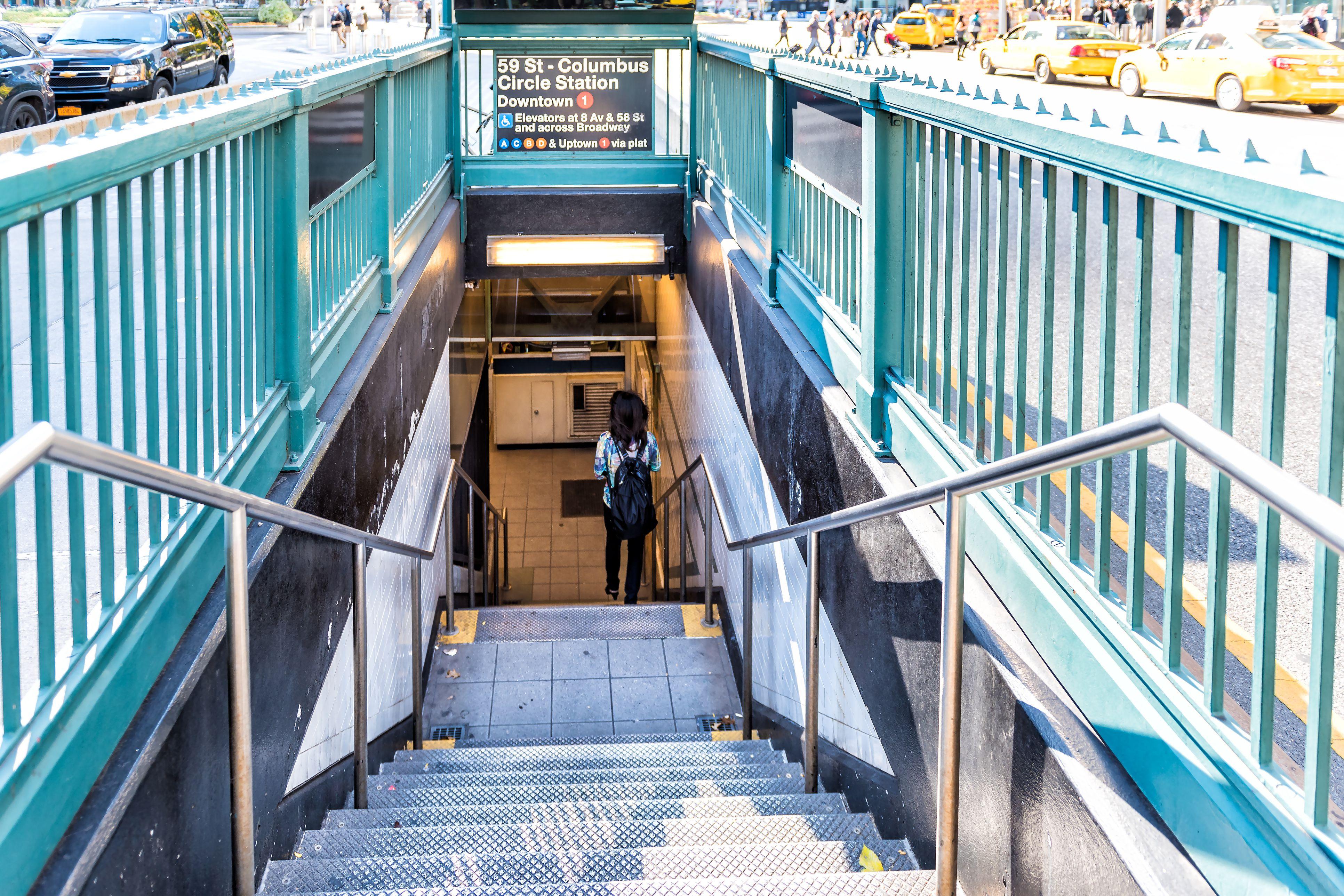 Columbus Circle Subway Map.Understanding New York City Subways And Buses