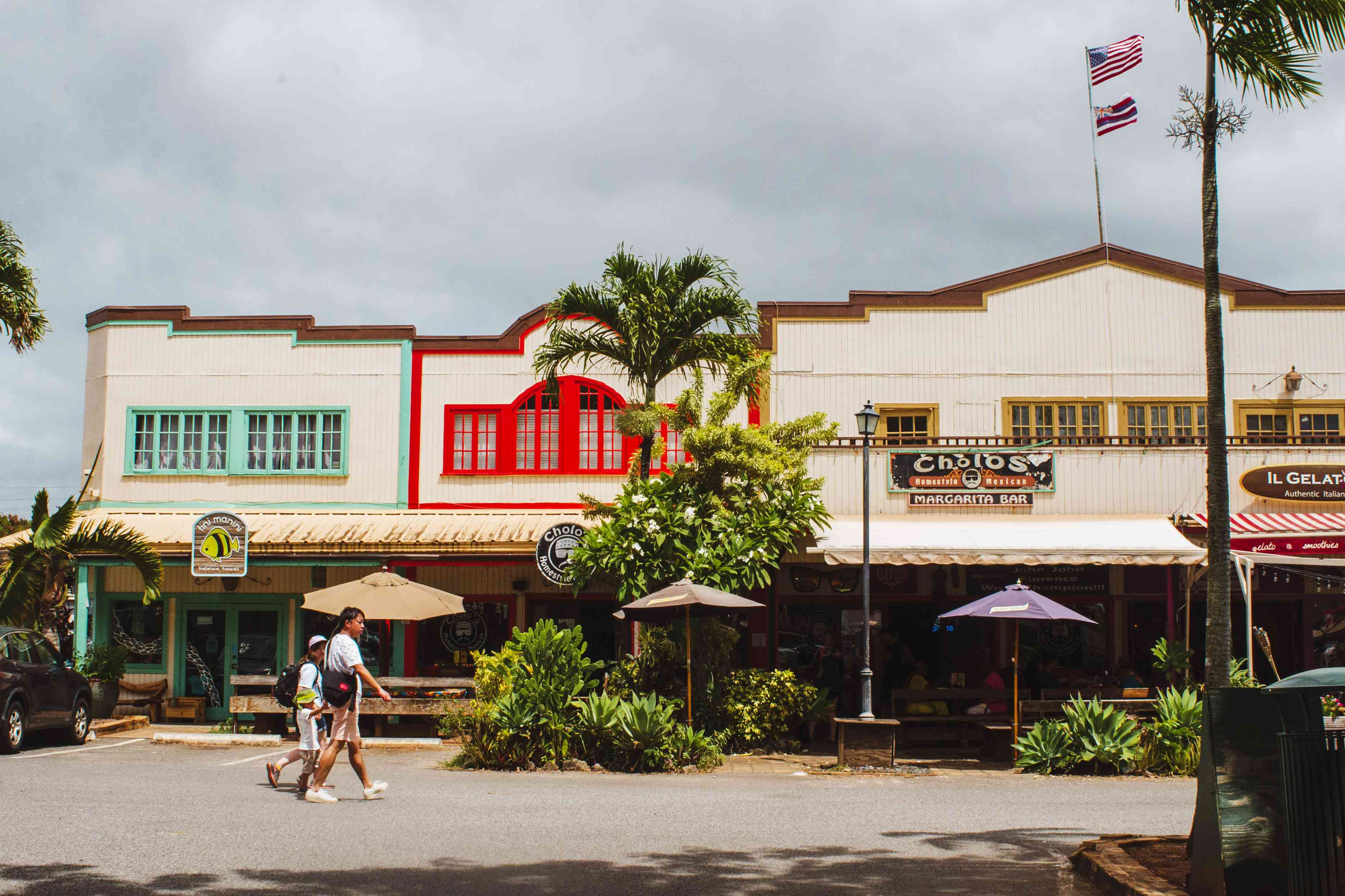 Shops in Haleiwa