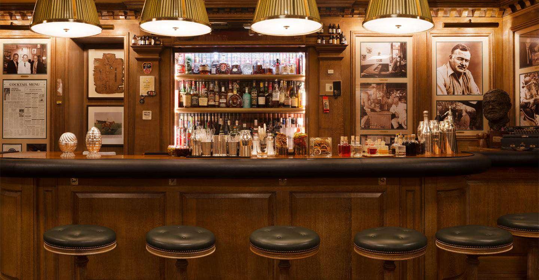 The Hemingway Bar at the Ritz in Paris