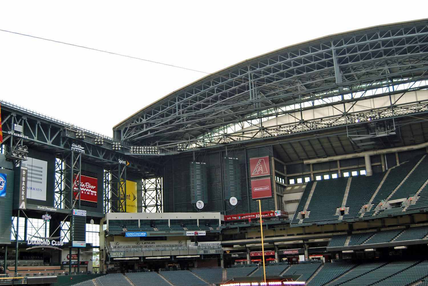 Retractable Roof at Chase Field