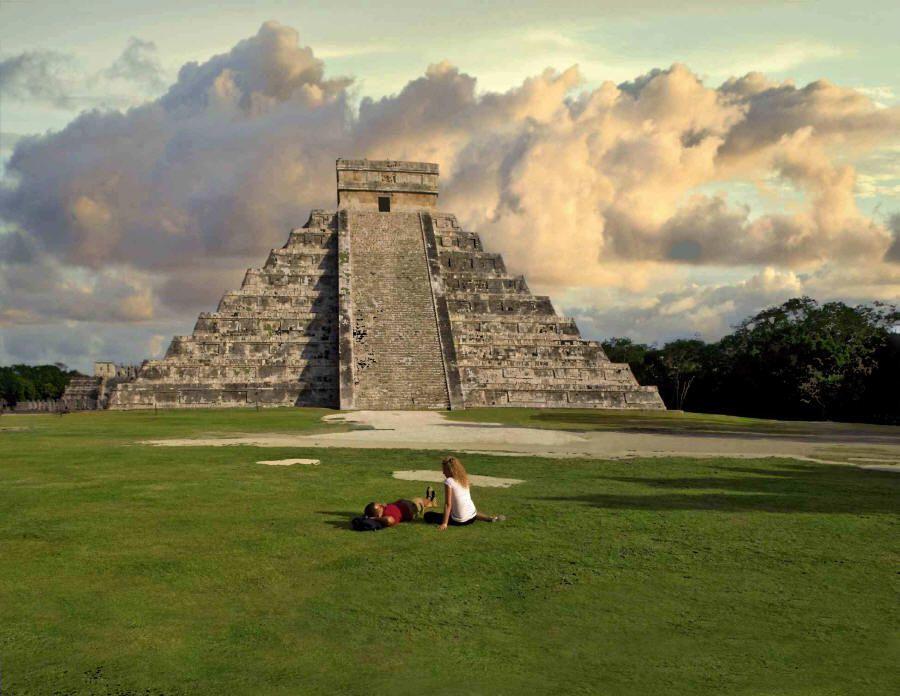 El Castillo, at Chichen Itza. Photo courtesy of Mexico Tourism.