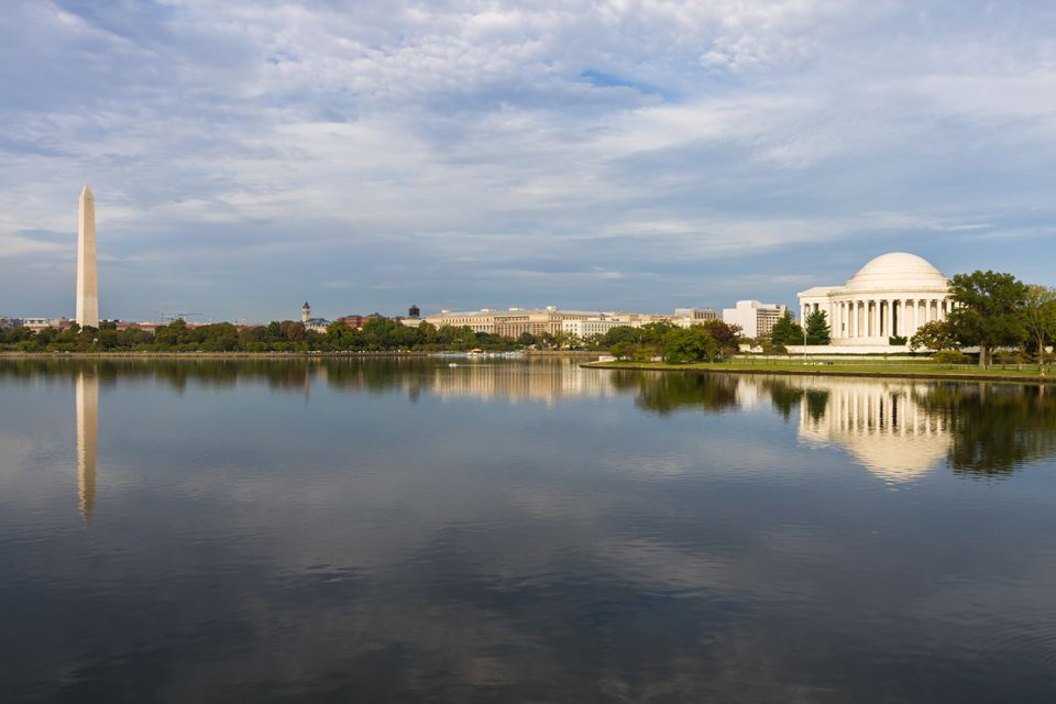 The Tidal Basin in Washington, DC