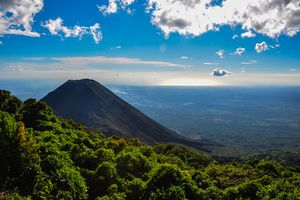 Izalco Volcano from Cerro Verde National Park, El Salvador