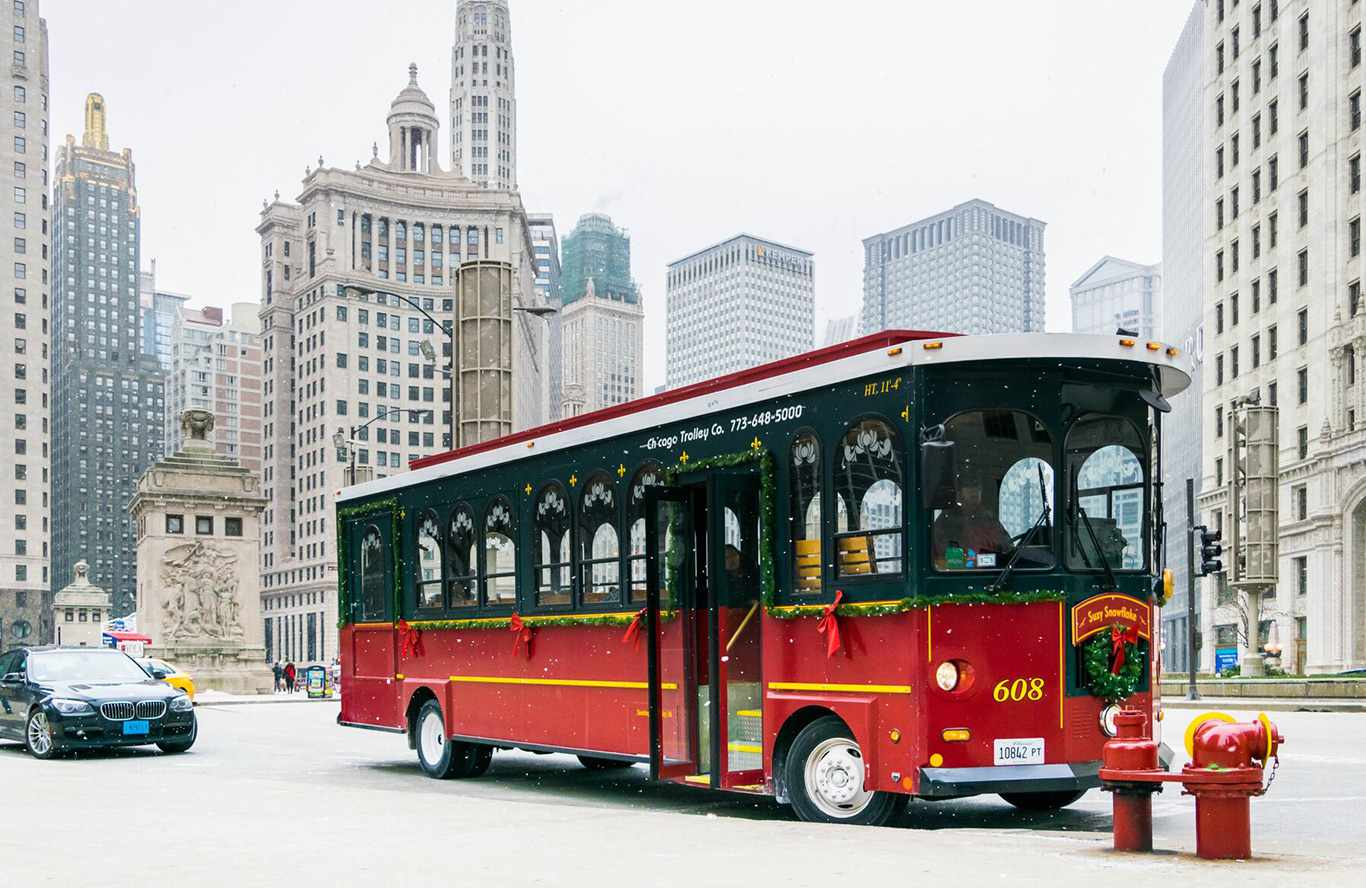 Chicago Holiday Trolley