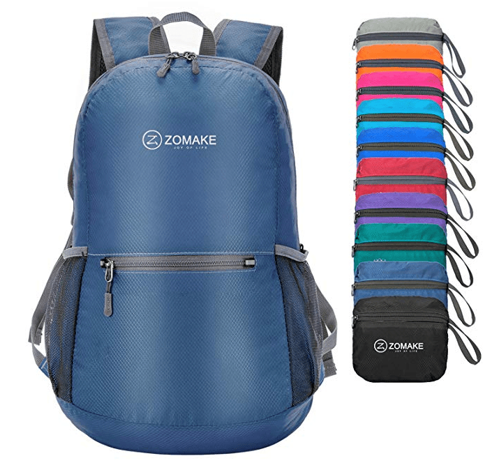 65f7b6b545be Best for Comfort  ZOMAKE Ultra Lightweight Packable Backpack