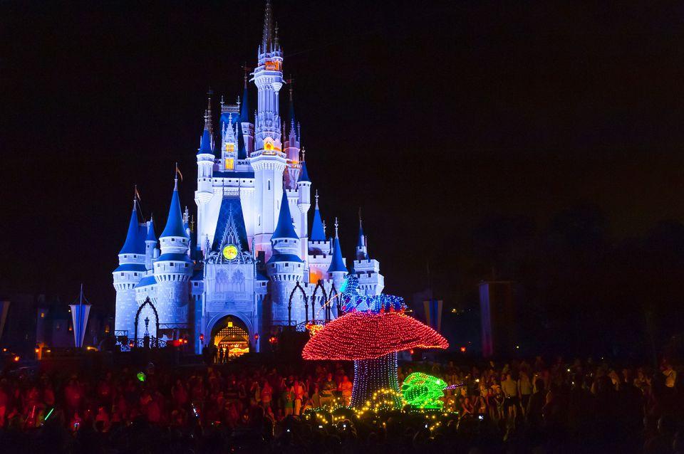 Castillo de Cenicienta en Disney World