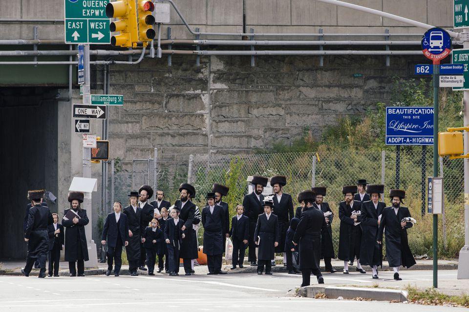 Comunidad jasídica en Williamsburg, Brooklyn, Nueva York