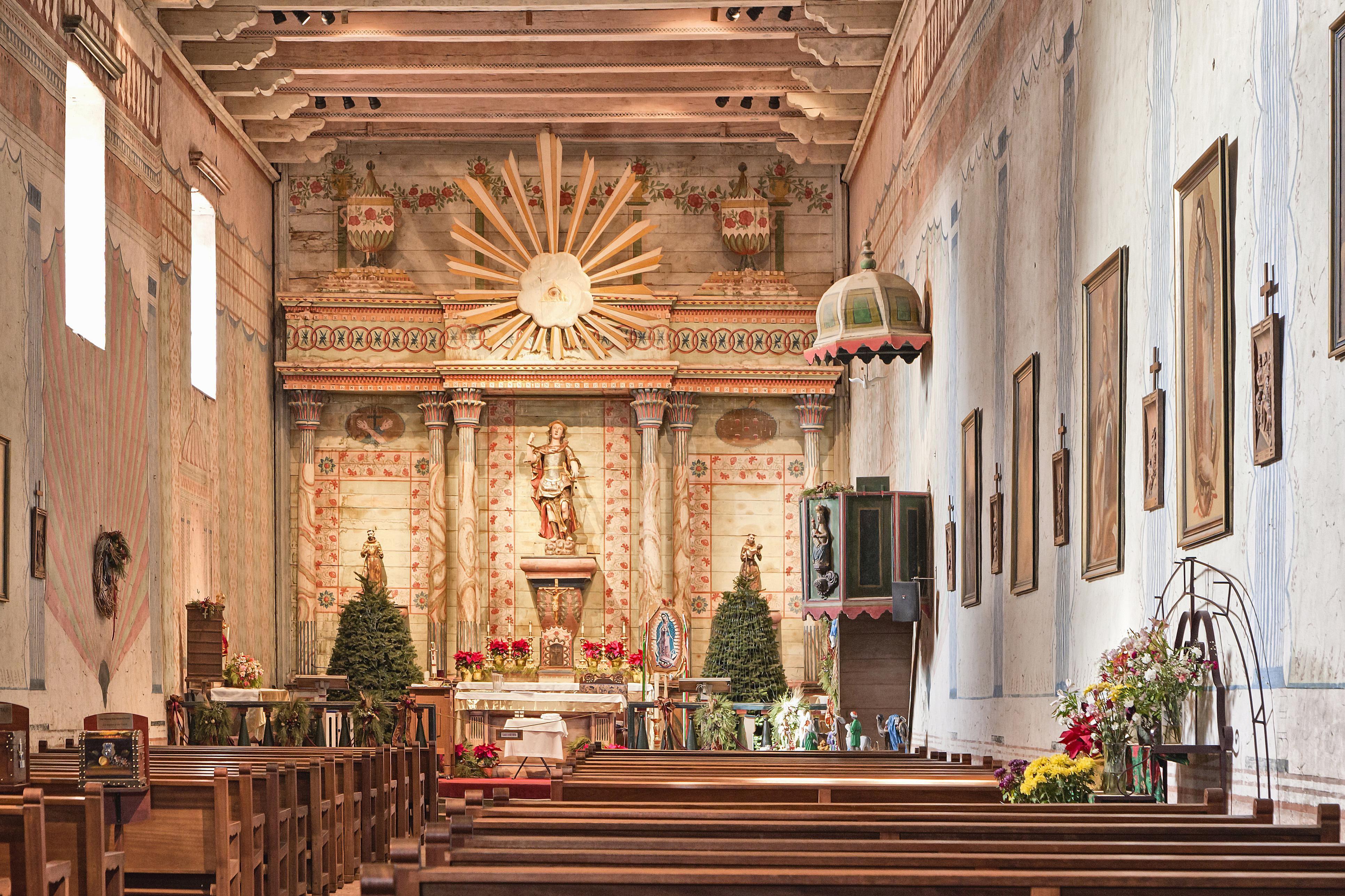 Interior, Mission San Miguel