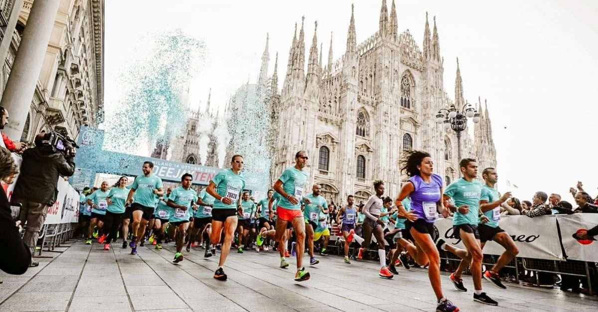 Deejay Ten Run at the Duomo