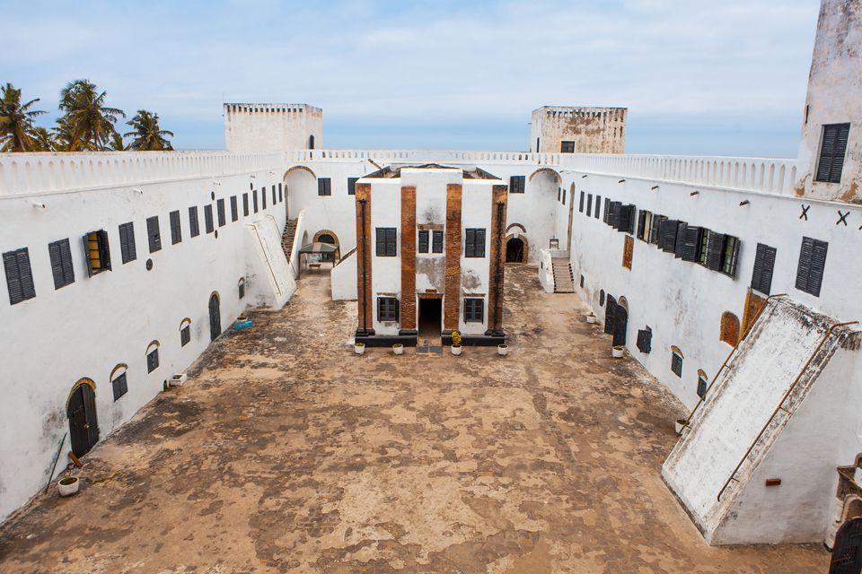 Ghana's Elmina Castle.