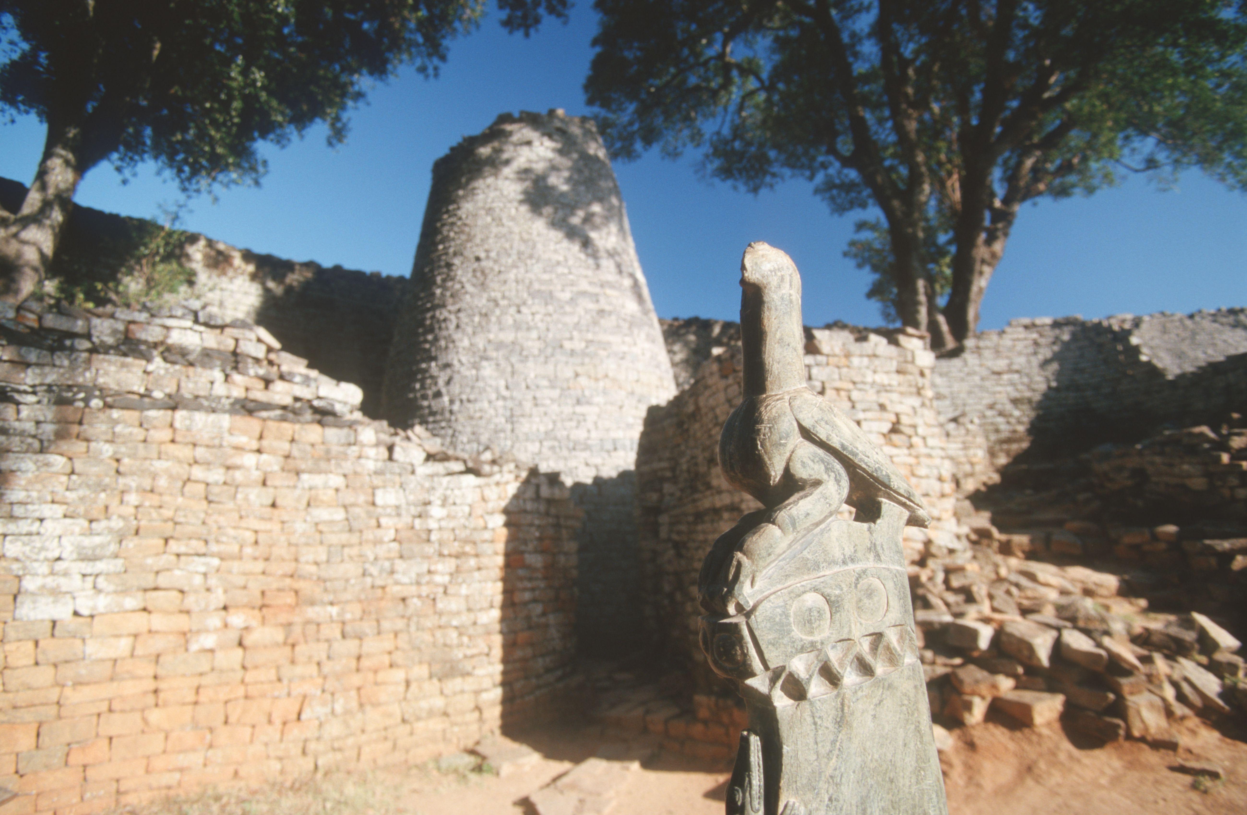 Zimbabwe Bird, Great Zimbabwe ruins, Zimbabwe