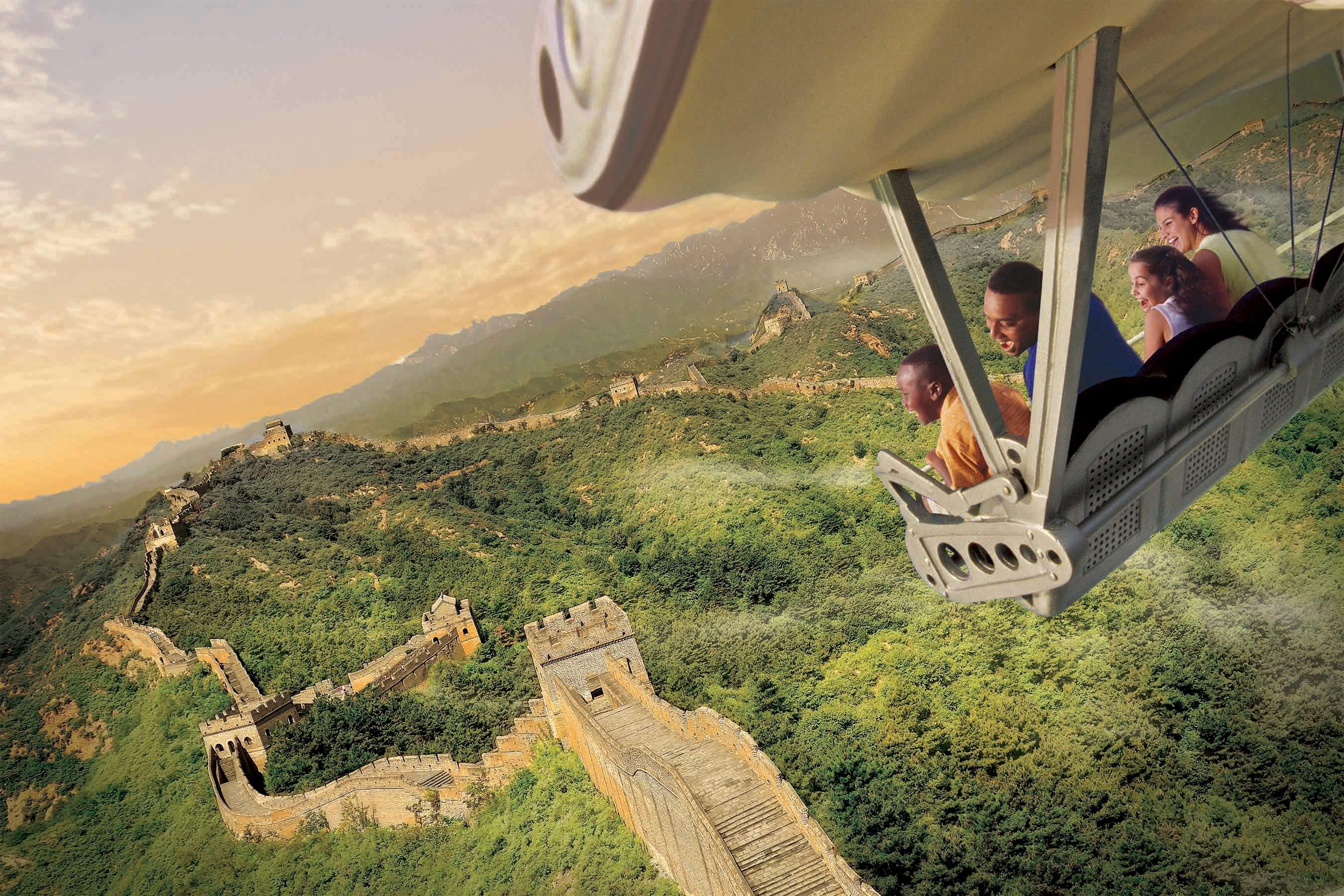 Soarin alrededor del mundo en Disney California Adventure
