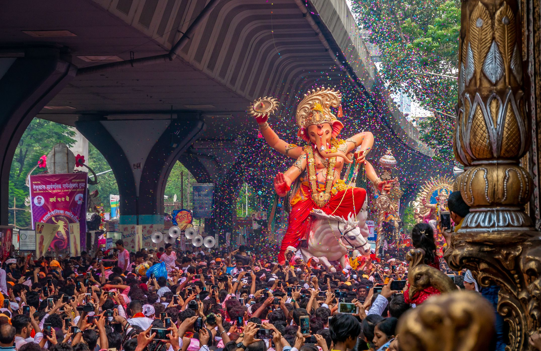 Mumbai Ganesh visarjan.