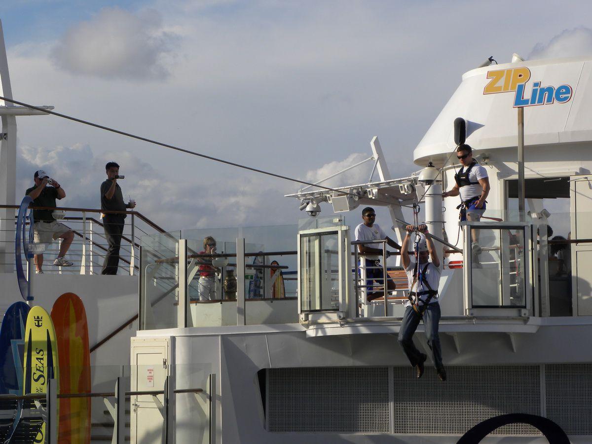 Oasis of the Seas Zipline