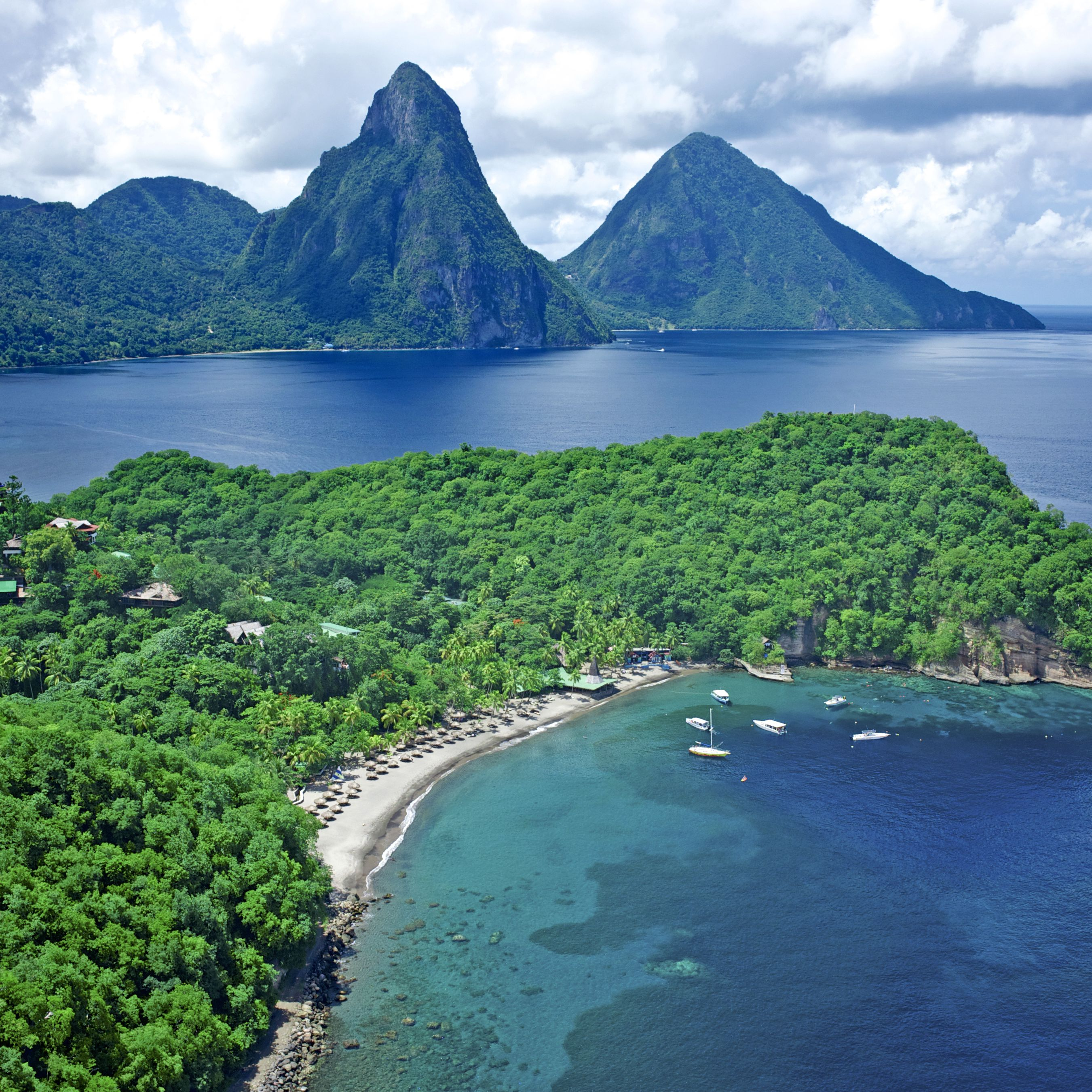 Rooms: St Lucia's Luxury Beach Hotels Are The Caribbean's Best