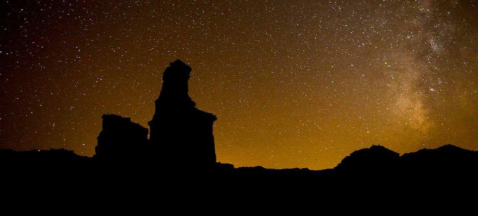 Palo Duro Canyon at Night