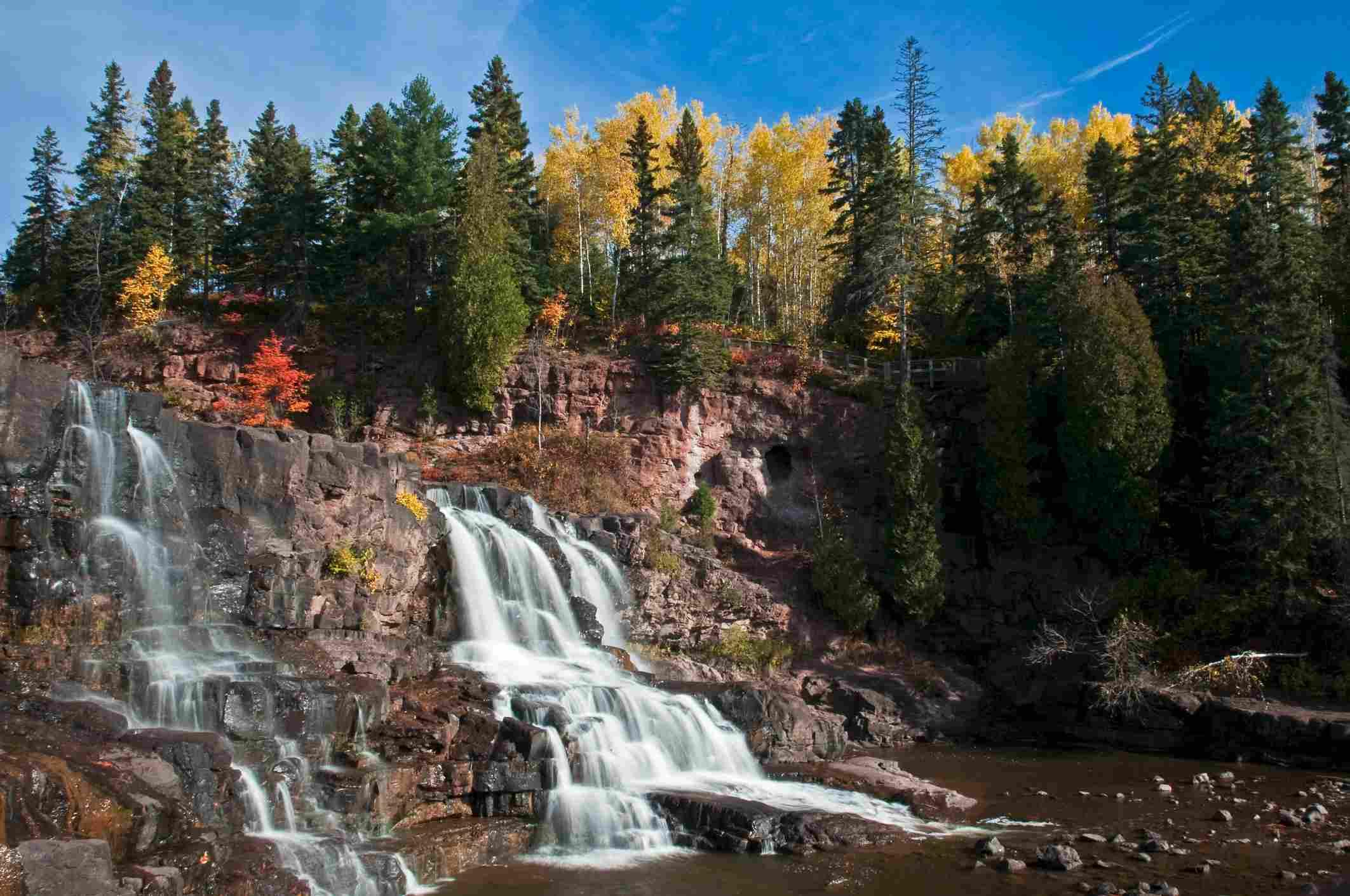 Gooseberry Falls State Park, Minnesota, United States of America