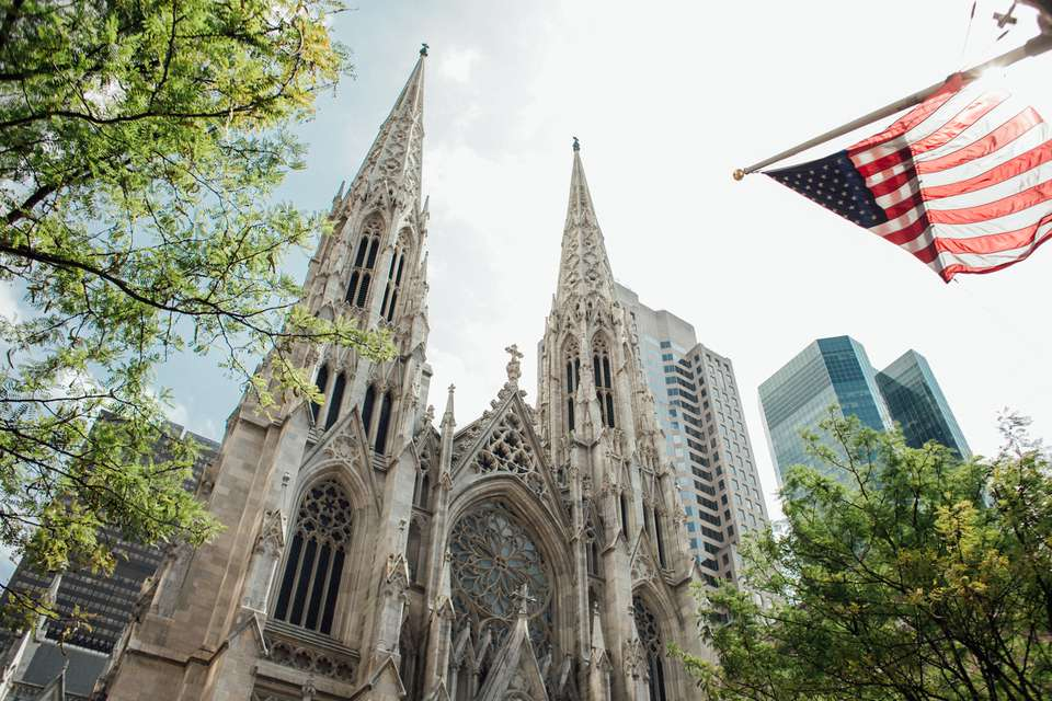 St Patrick's Cathedral in New York City, NY