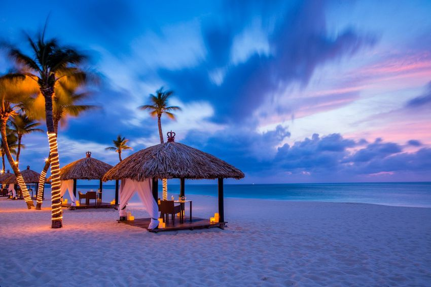Romantic Dining in Private Palapa