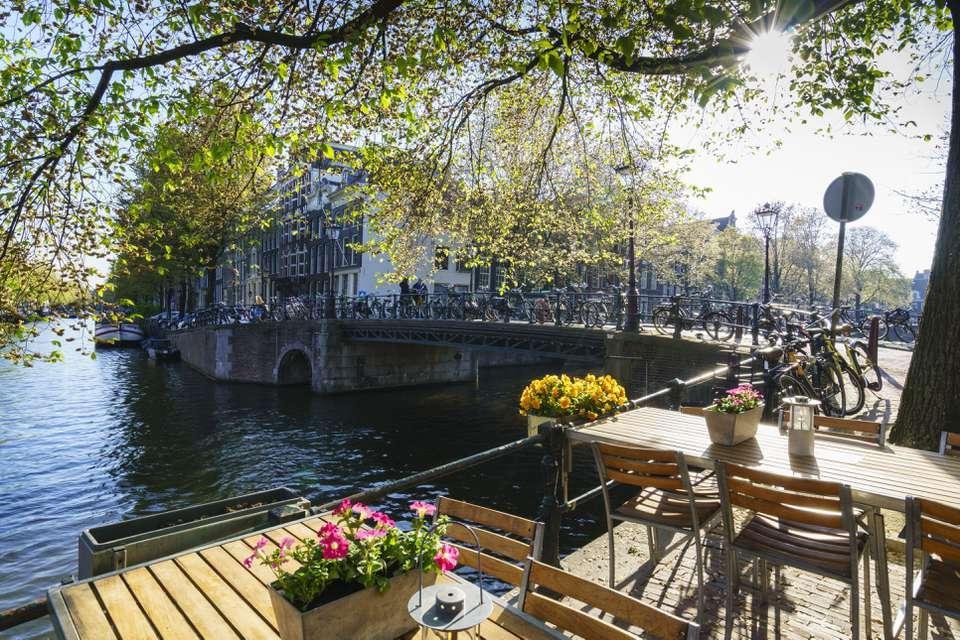 Brouwersgracht Canal, Amsterdam, Netherlands, Europe