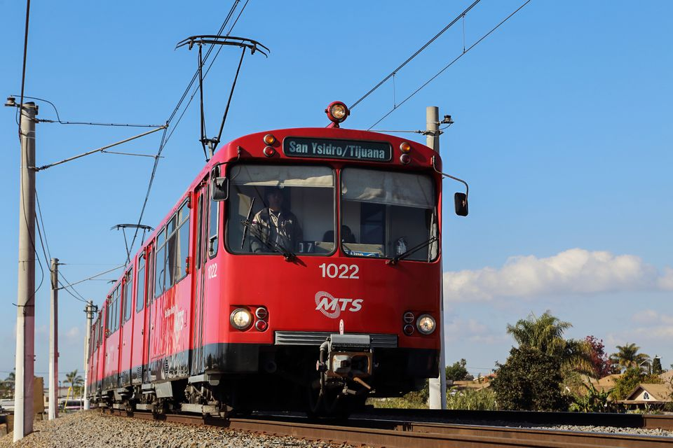 San Diego Trolley Lines and Stops