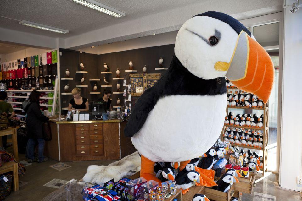 Tourist Shop in Iceland
