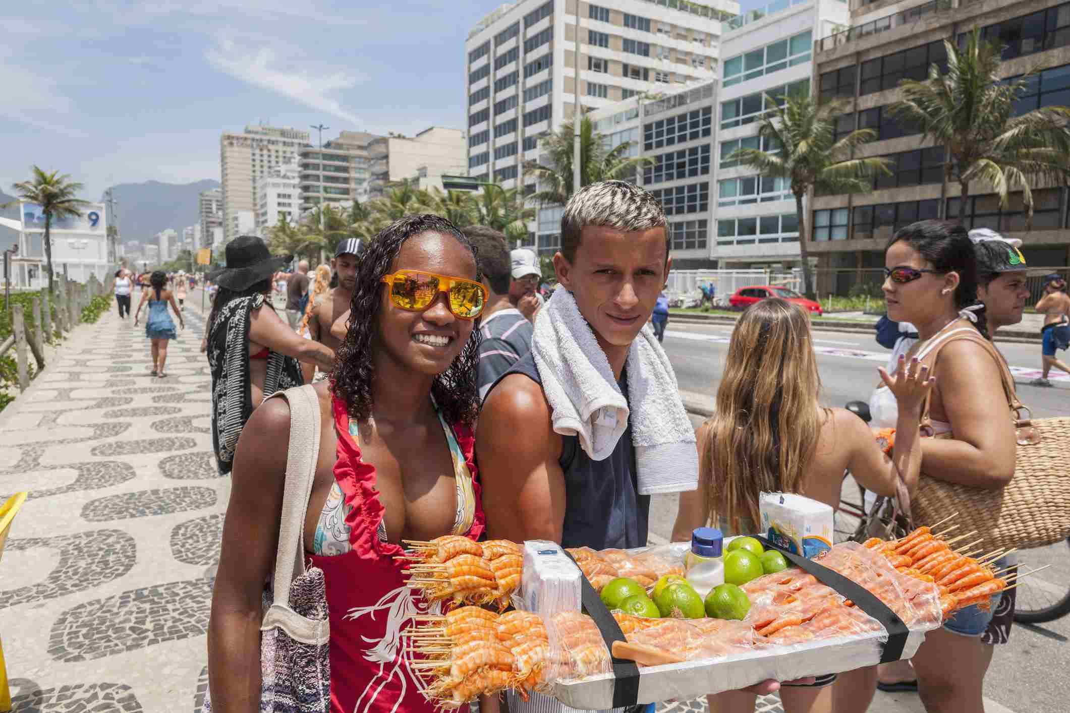 Kebabs in Rio de Janeiro