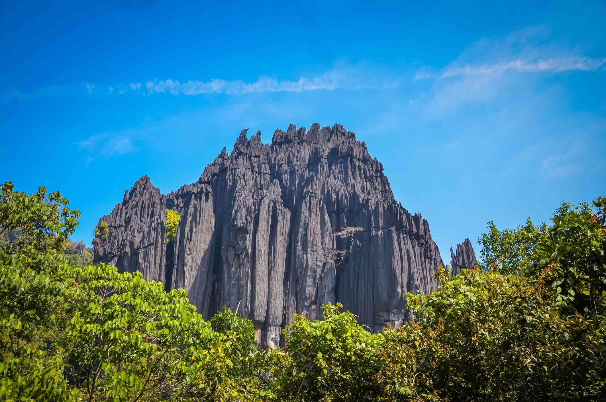 Natural Rock Structure Near Yana, Karnataka