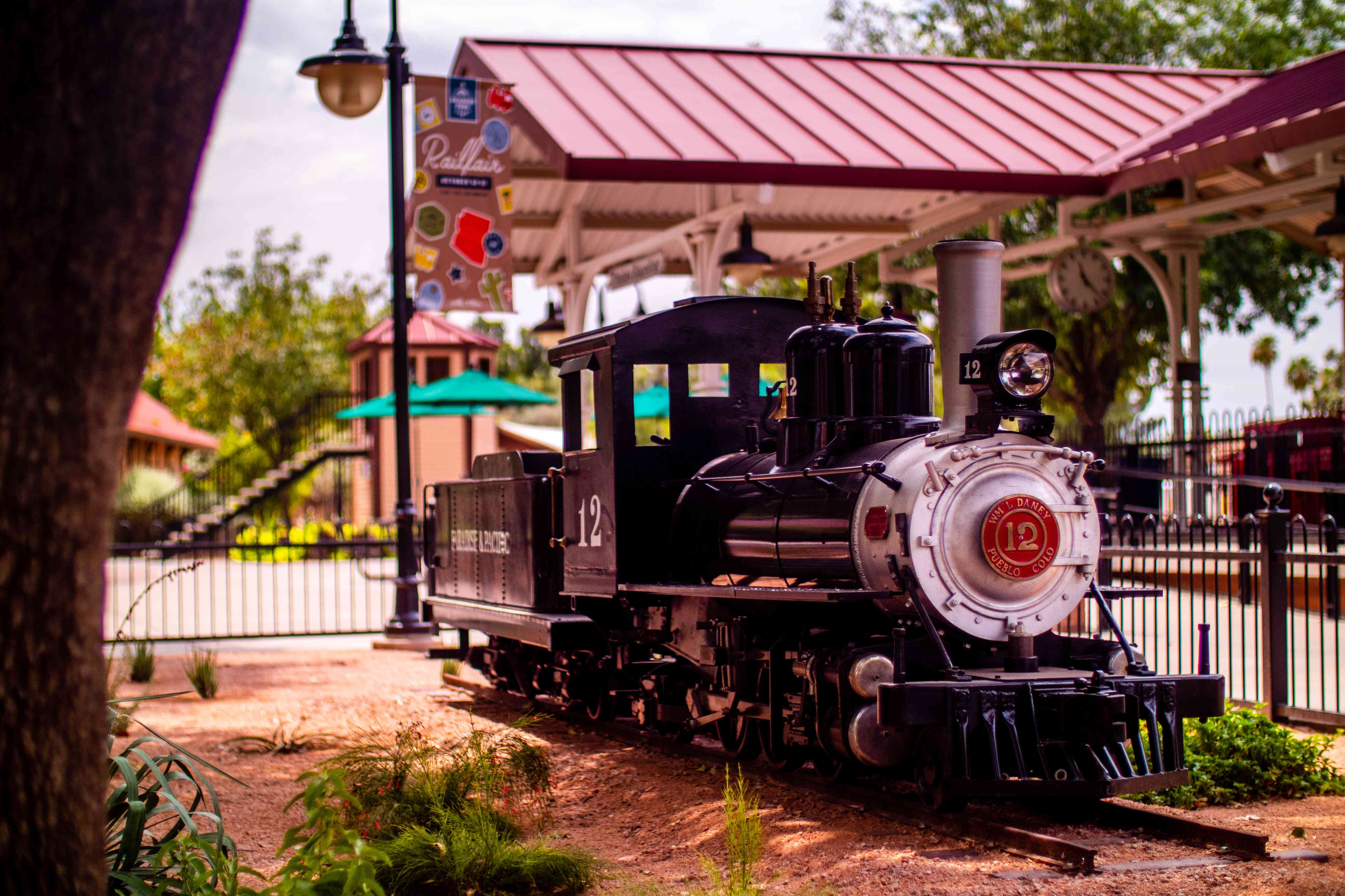 McCormick Stillman Railroad Park in Scottsdale, Arizona