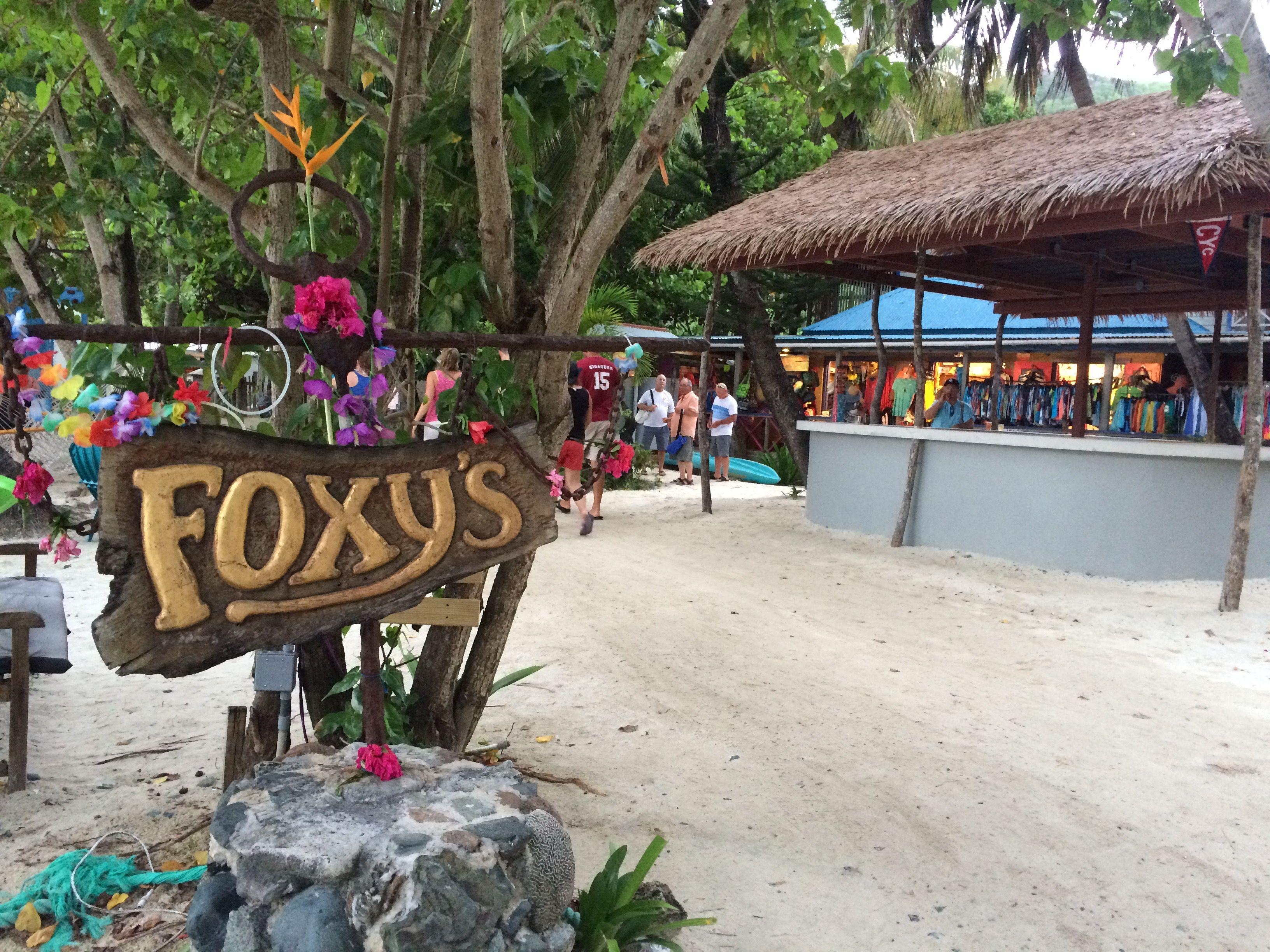 Foxy's Beach Bar, BVI