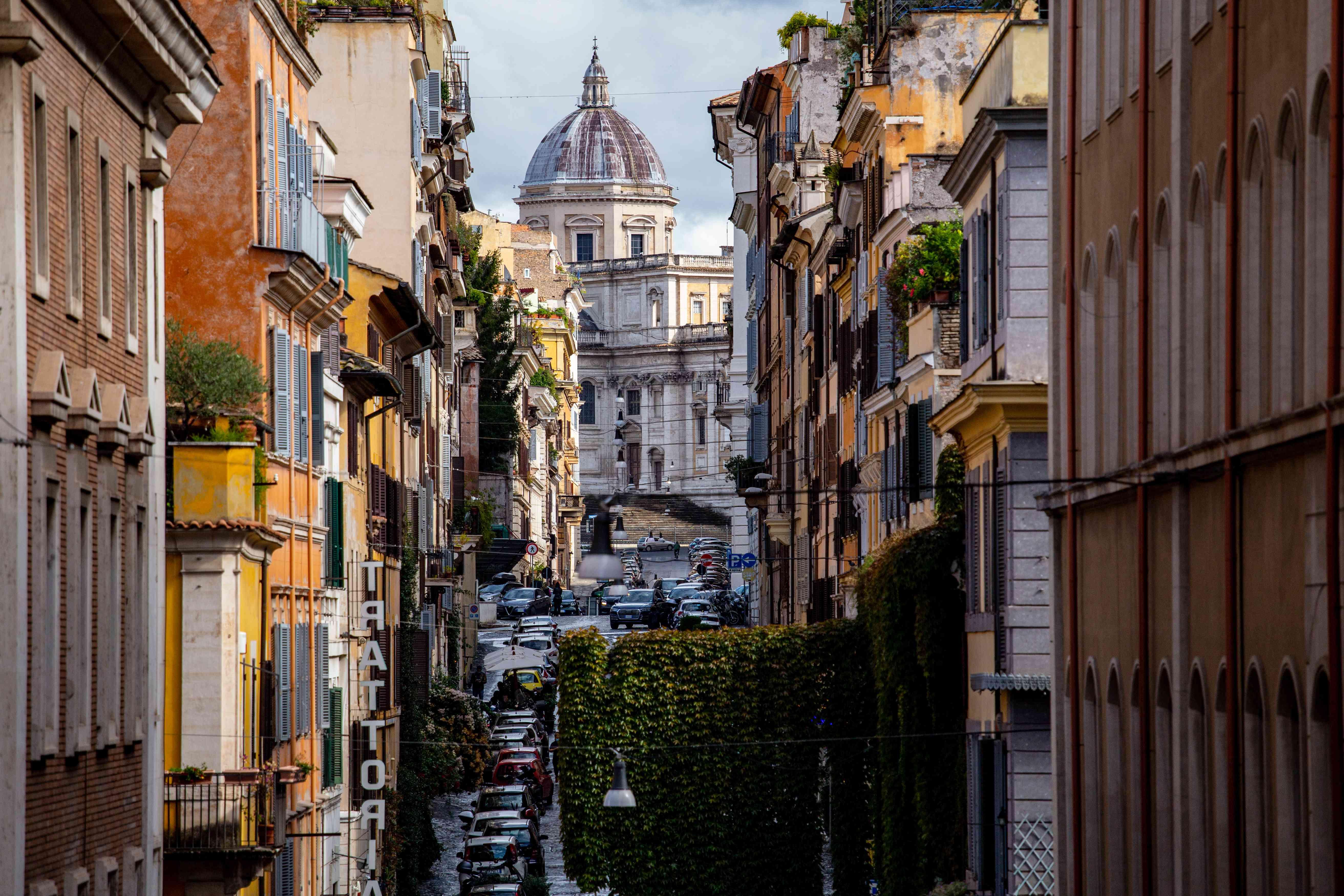 Monti distric, Rome