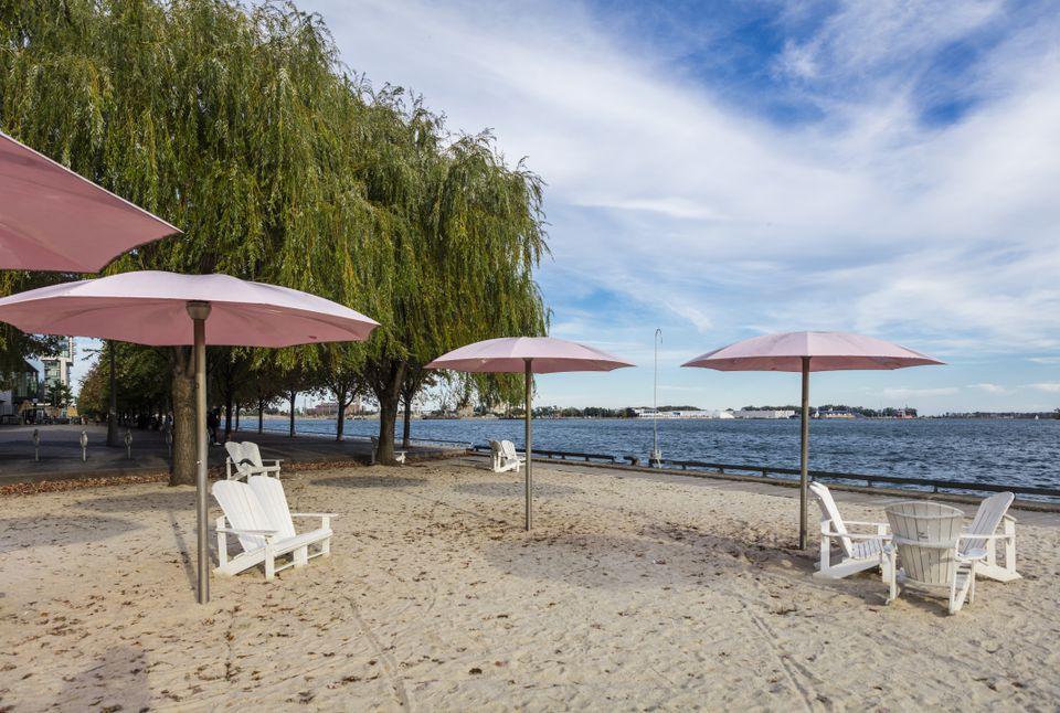 Sugar Beach en Toronto
