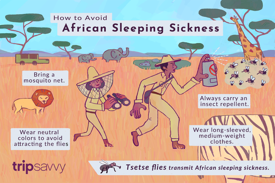 how to avoid African sleeping sickness