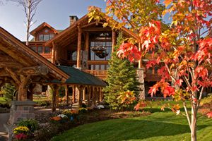 Photo of Whiteface Lodge in autumn