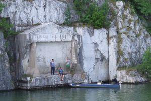 Tabula Traiana - Roman Monument at the Iron Gates of the Danube River