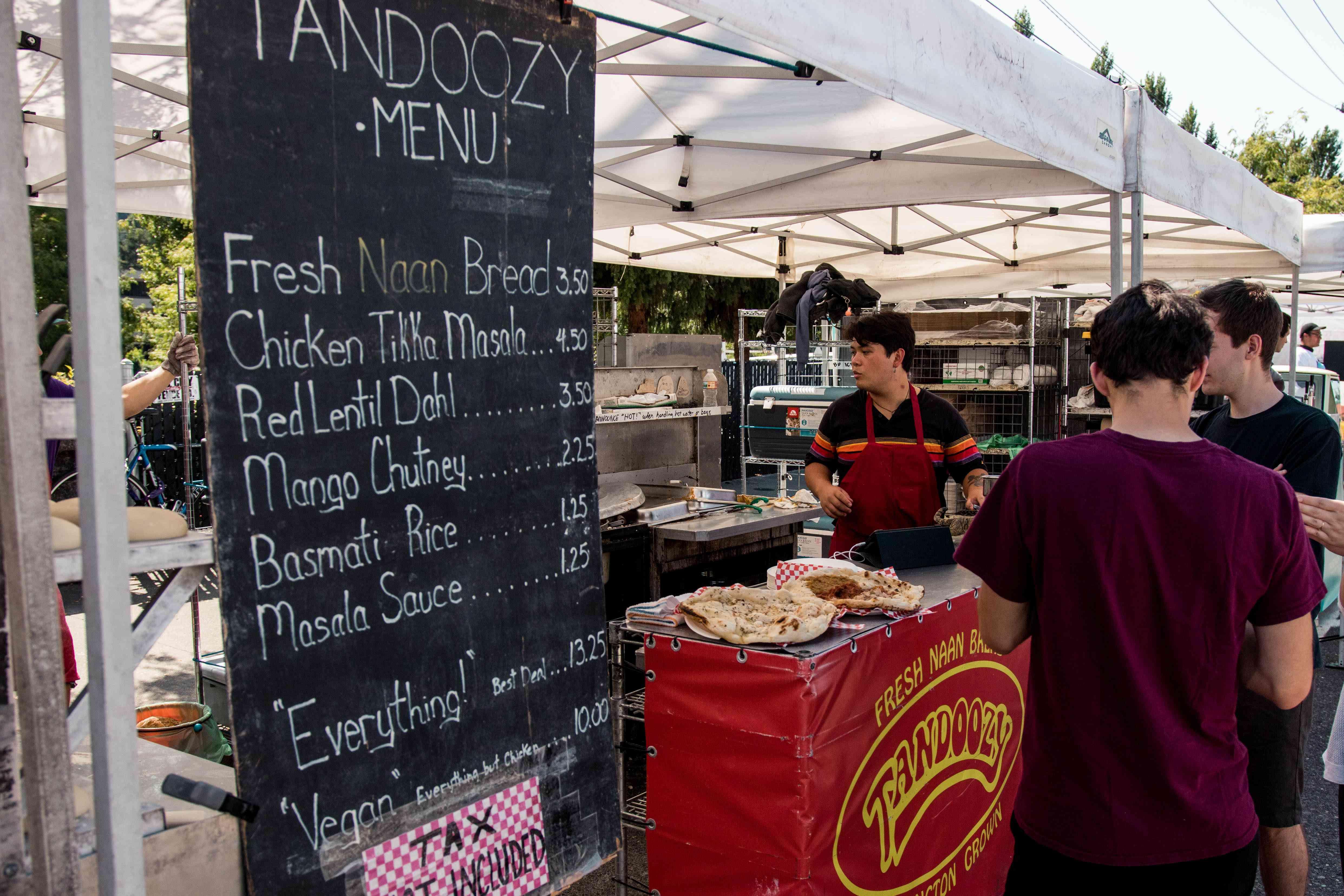 Fremont Sunday Market in Seattle, Washington