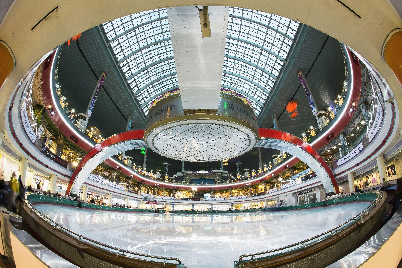 Ice Rink, Lotte World, Jamsil, Songpa-gu, Seoul, Korea
