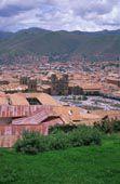 Rooftops of Cuzco, Peru