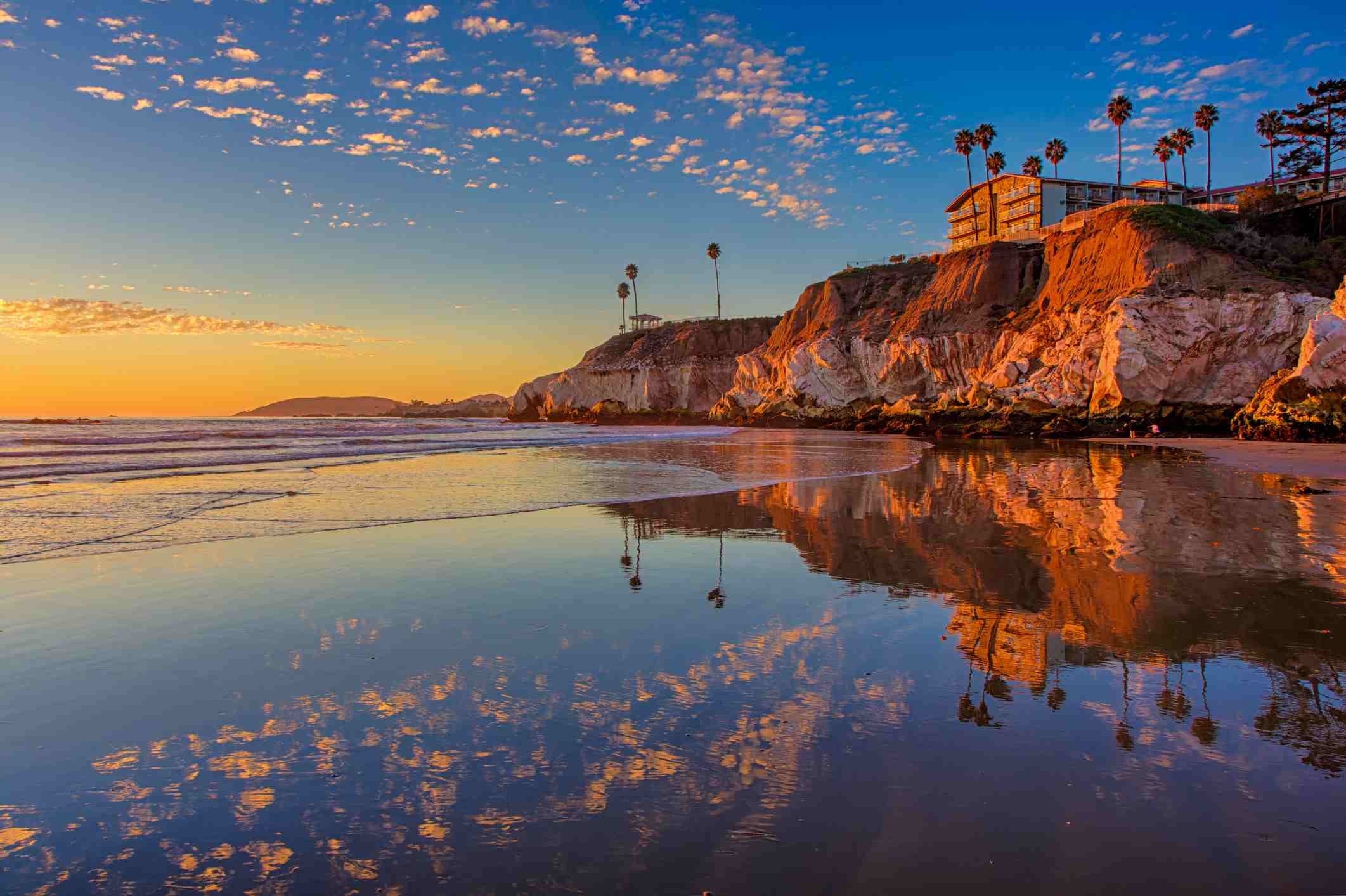 Sunset At The North End Of Pismo Beach