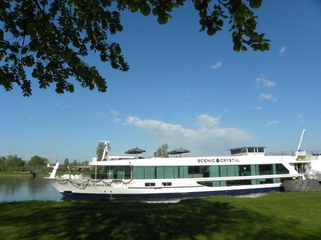 Scenic Crystal river vessel of Scenic Cruises