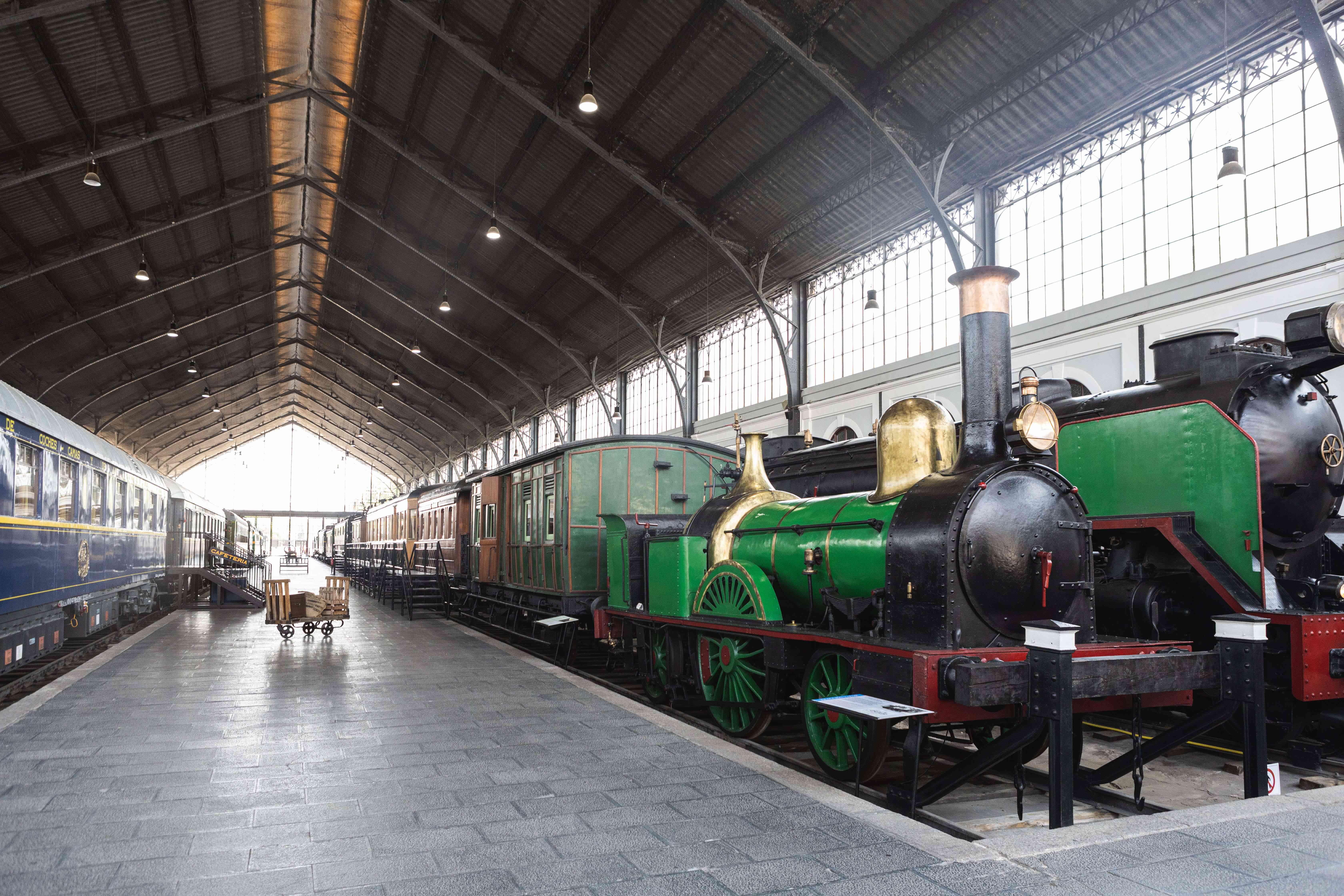 Museo del Ferrocarril in Madrid