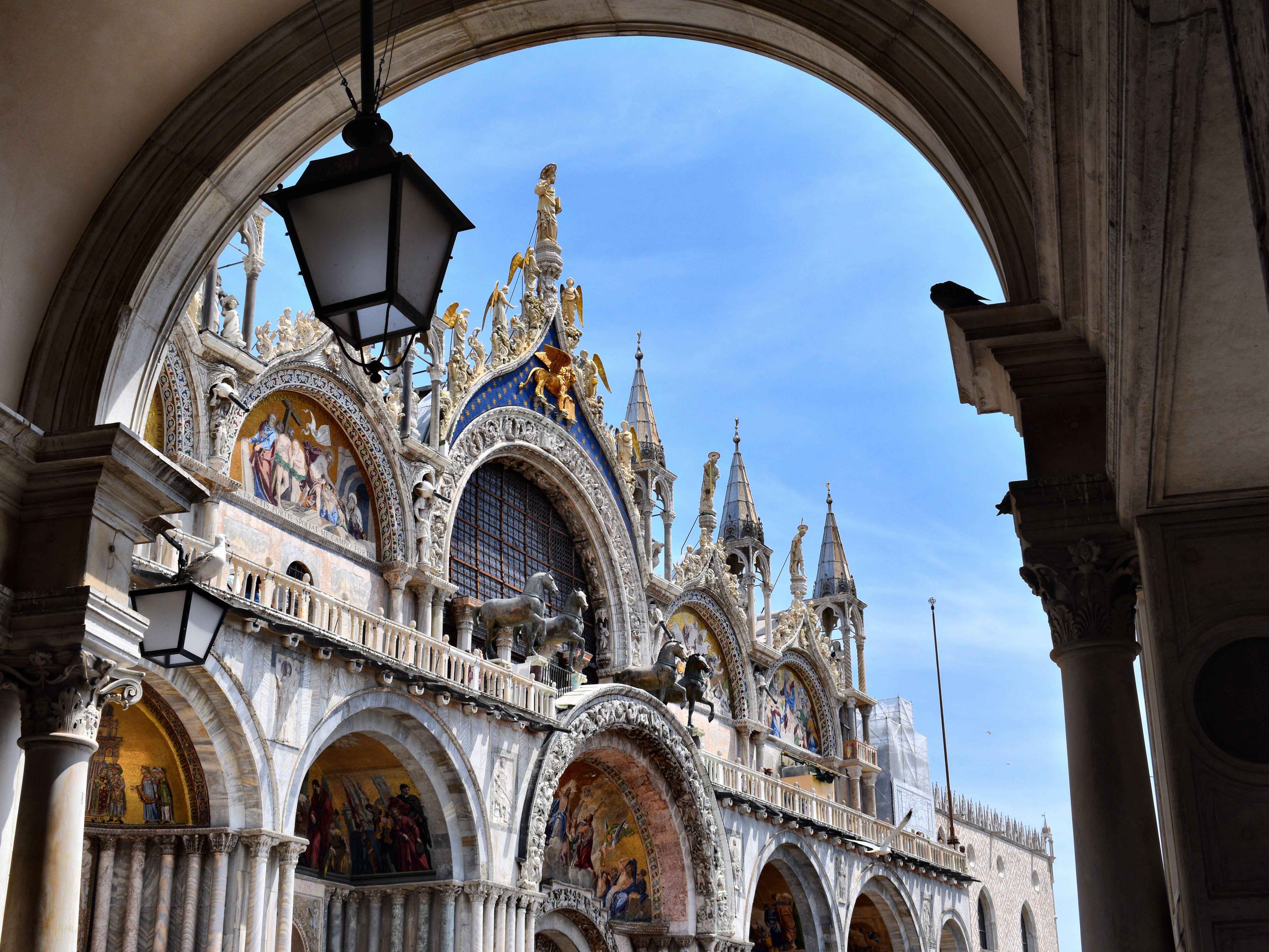 Art Of Saint Mark S Basilica In Venice