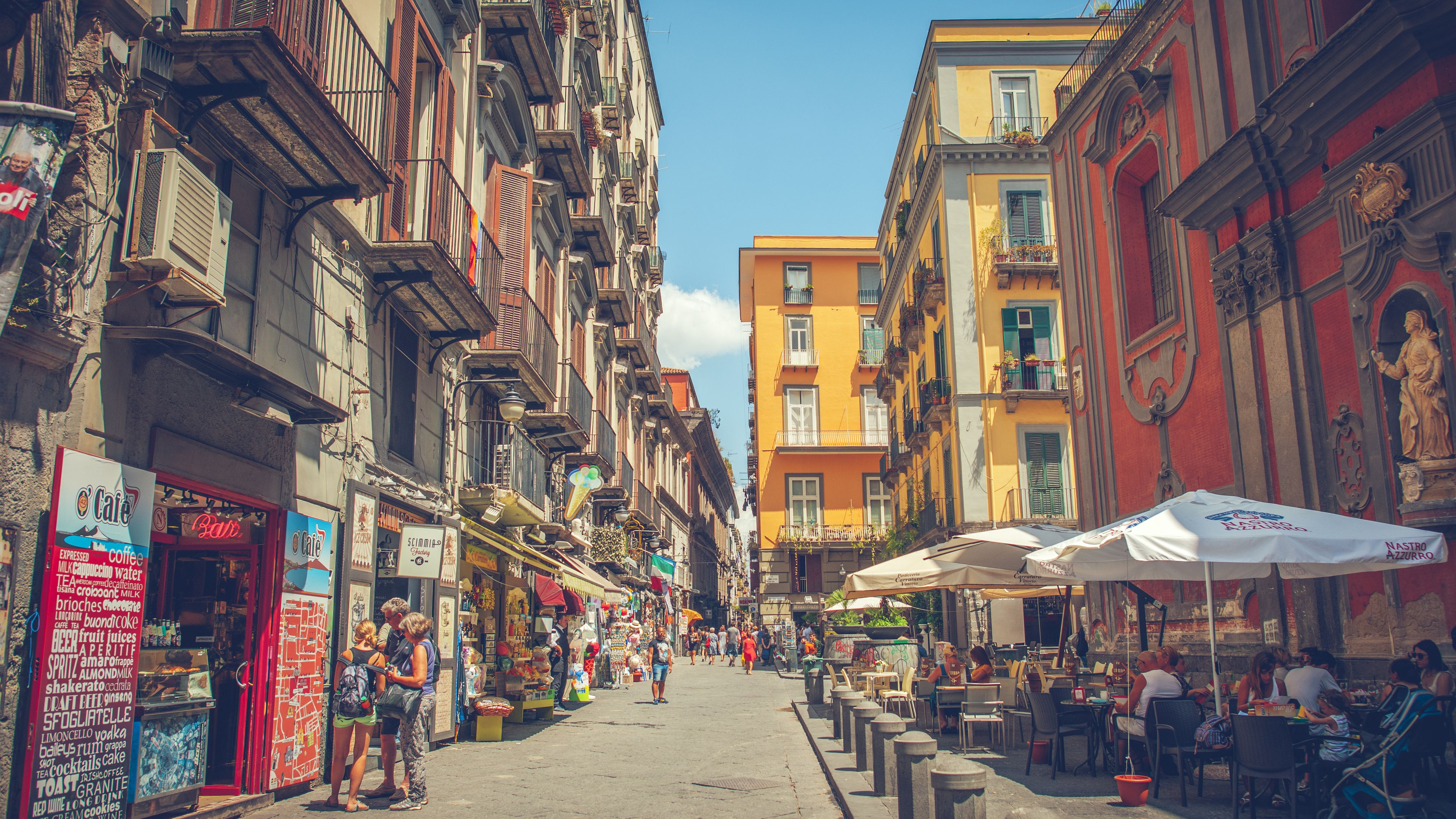 Where To Eat In Naples Italy With A Map