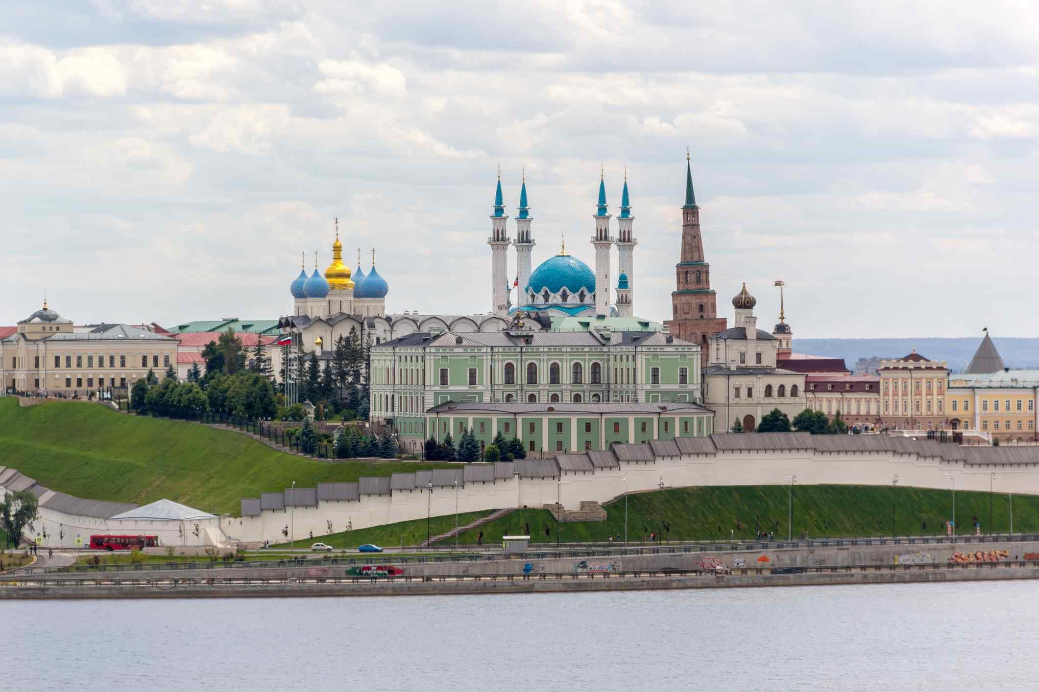 Kazan Kremlin from across the river