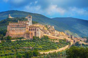 Basilica of San Francesco in Assisi, Umbria, Italy