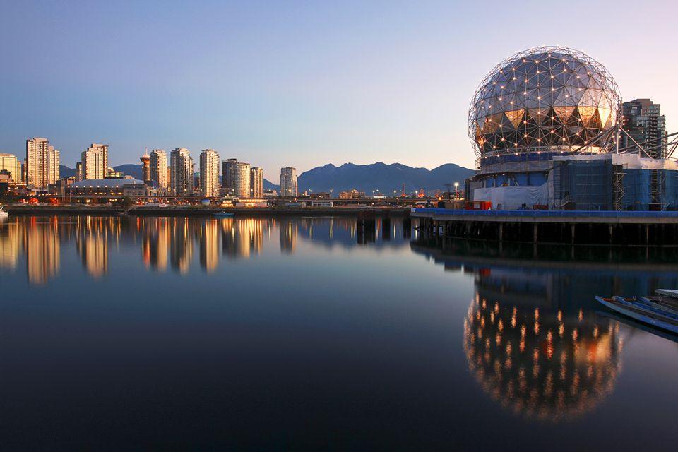 Mundo de la ciencia en False Creek, Vancouver