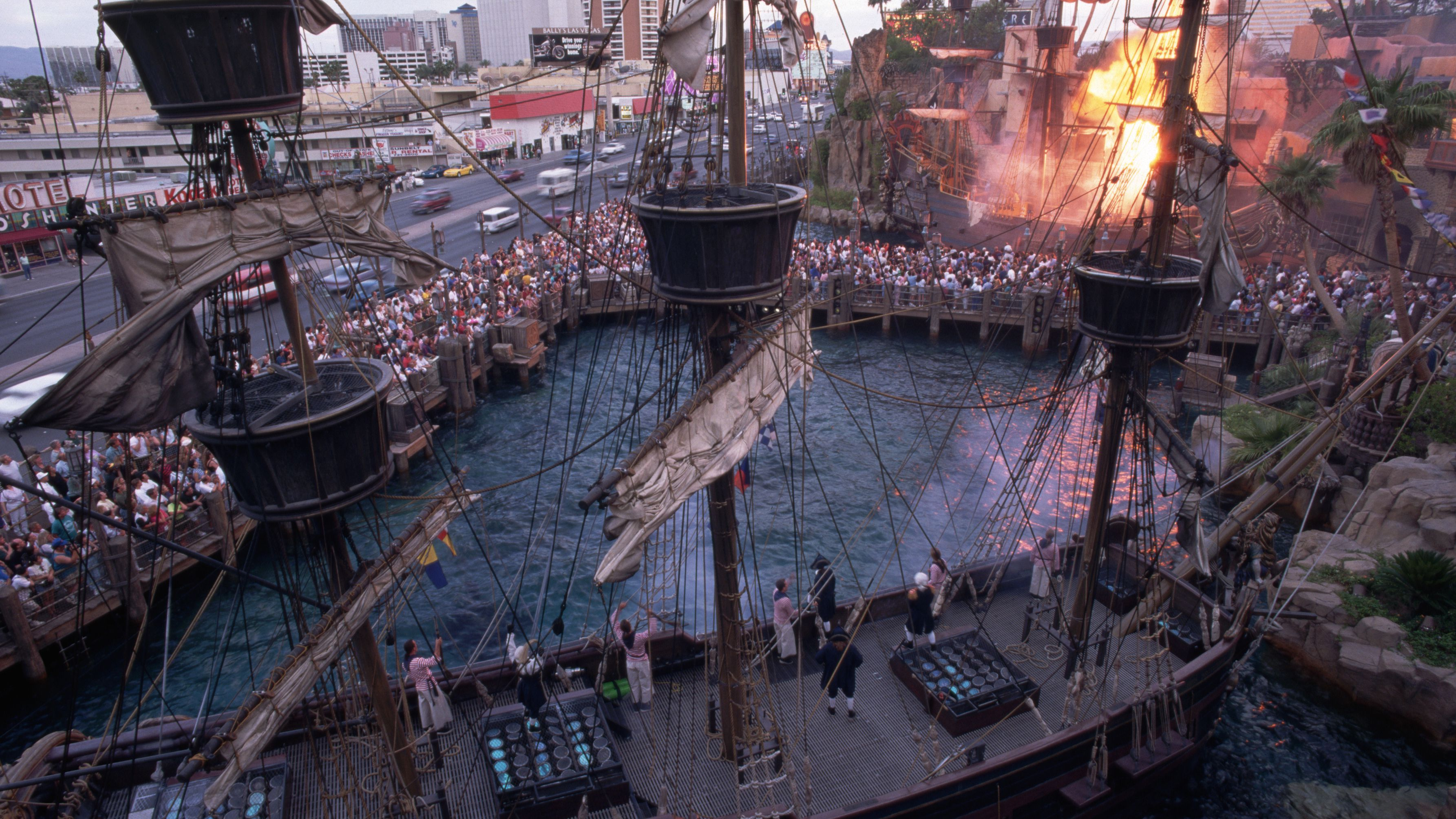 Sirens Of Treasure Island Show Is No More