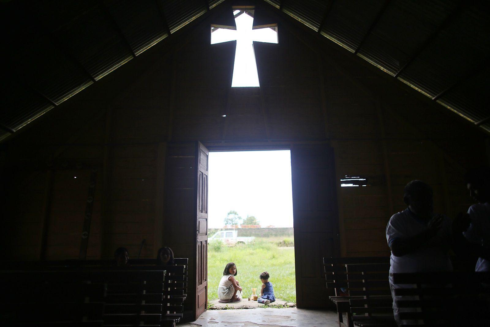 Church in the Madre de Dios region of Peru