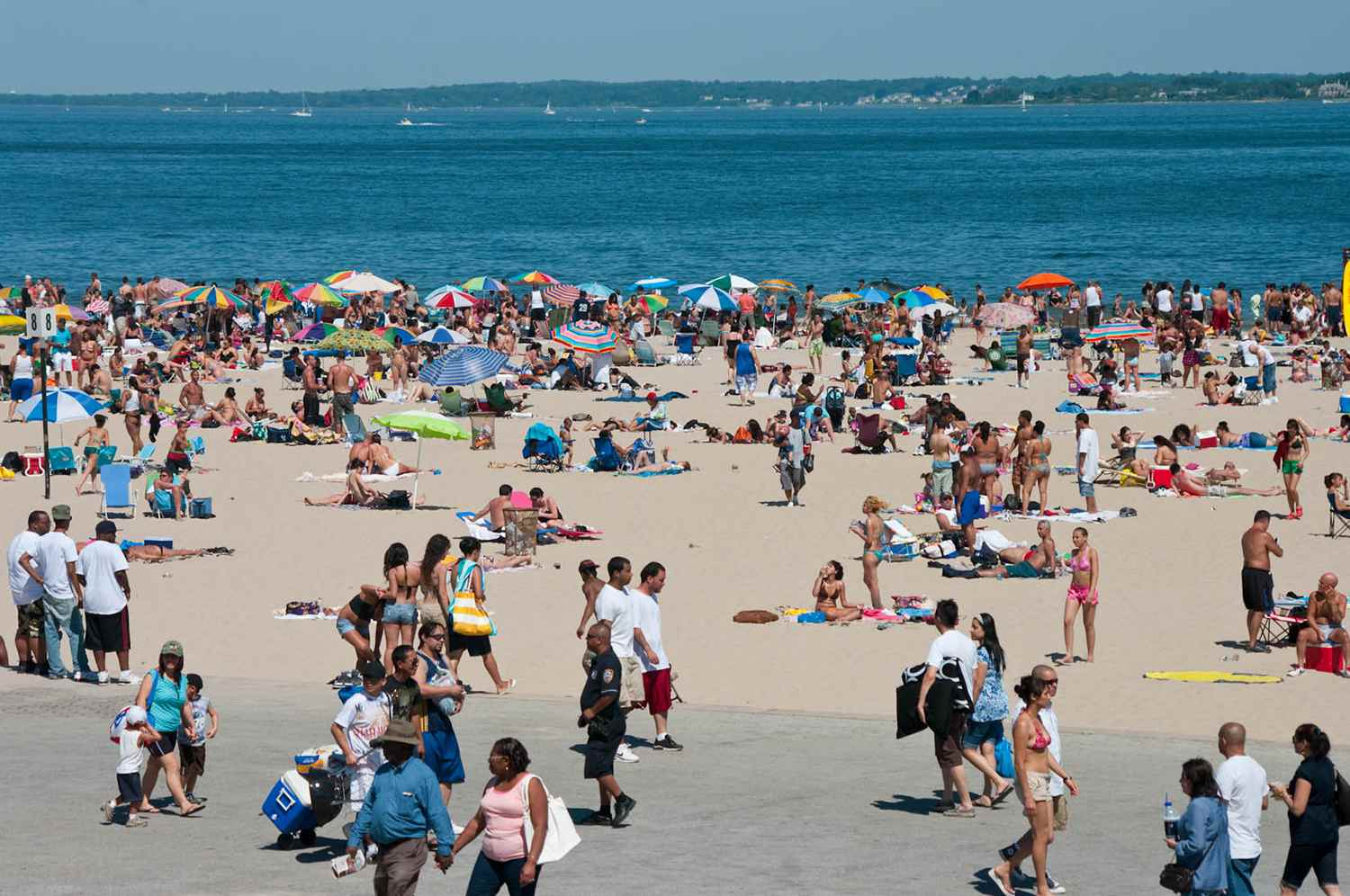 Orchard Beach in the Bronx